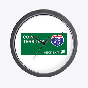 Coin Territory Wall Clock