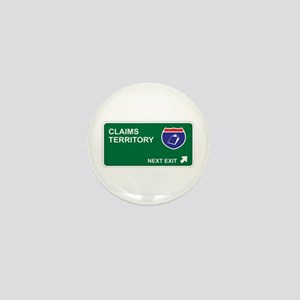 Claims Territory Mini Button