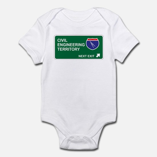 Civil, Engineering Territory Infant Bodysuit