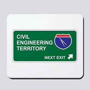 Civil, Engineering Territory Mousepad