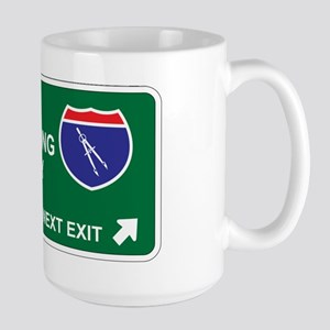 Civil, Engineering Territory Large Mug
