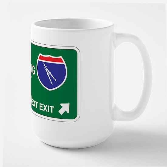 Civil, Engineering Territory Large Mug