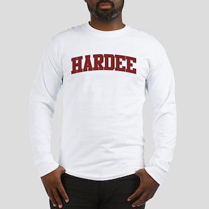 HARDEE Design Long Sleeve T-Shirt