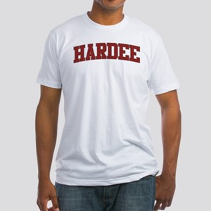 HARDEE Design Fitted T-Shirt