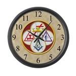 York Rite Giant Clock