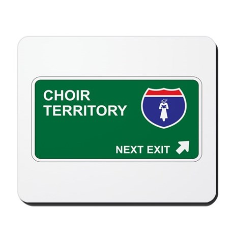 Choir Territory Mousepad