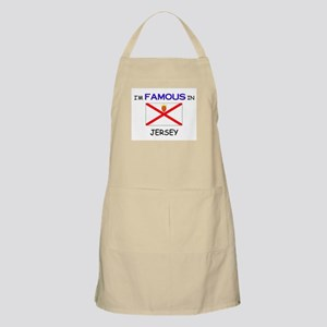 I'd Famous In JERSEY BBQ Apron