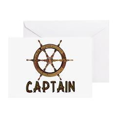 Captain Greeting Card