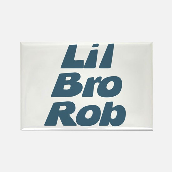 Lil Bro Rob Rectangle Magnet