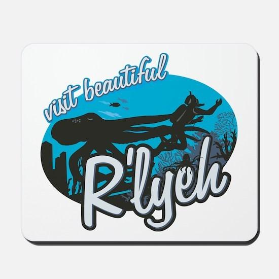 Call of Cthulhu - Visit Beautiful R'lyeh Mousepad