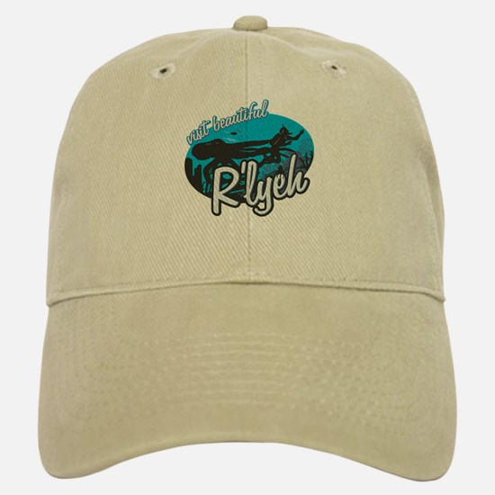 Call of Cthulhu - Visit Beautiful R'lyeh Baseball Baseball Cap