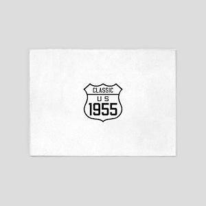 Classic US 1955 5'x7'Area Rug