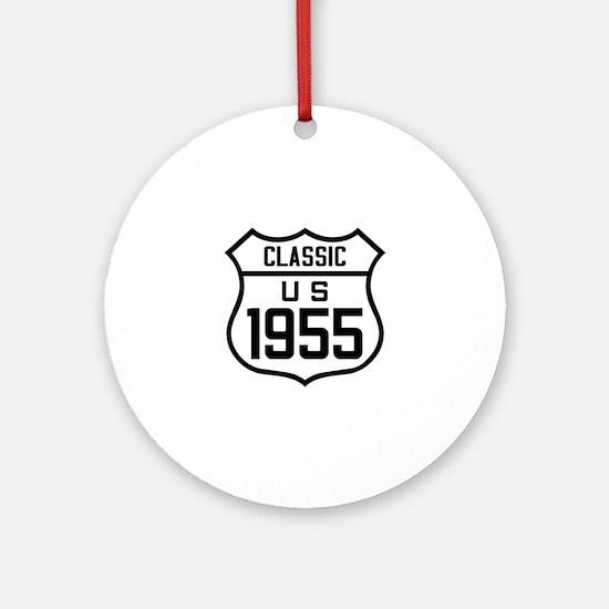 Classic US 1955 Round Ornament