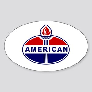 American Oil Sticker