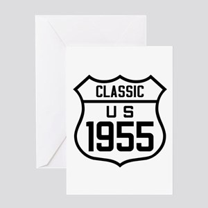 Classic US 1955 Greeting Cards