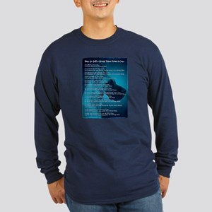 Fawn Great Danes & Cows Long Sleeve Dark T-Shirt