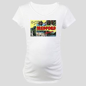 Medford Oregon Greetings Maternity T-Shirt