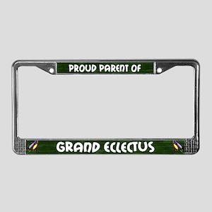 Proud Parent Multi Grand Ekkie License Plate Frame