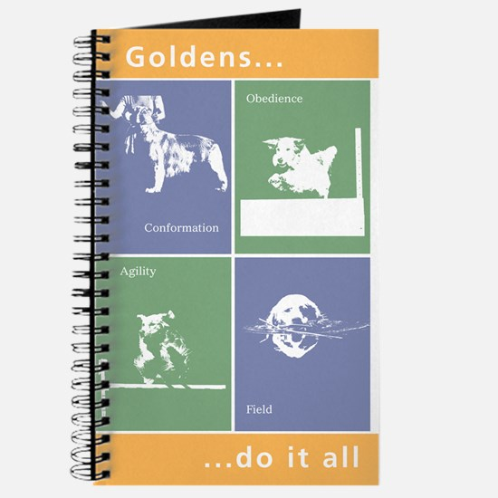 Goldens Do It All Journal