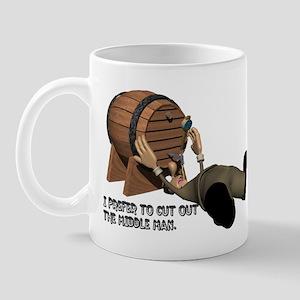 Beer Keg Drinker Mug