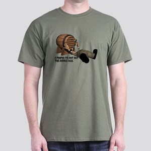 Beer Keg Drinker Dark T-Shirt