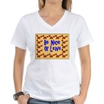 Be Nice or Leave Women's V-Neck T-Shirt