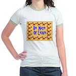 Be Nice or Leave Jr. Ringer T-Shirt