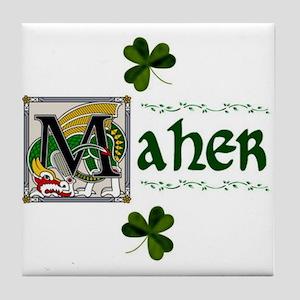 Maher Celtic Dragon Ceramic Tile