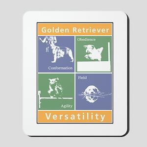 Golden Versatility Mousepad