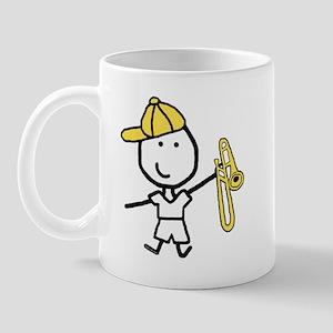 Boy & Trombone Mug