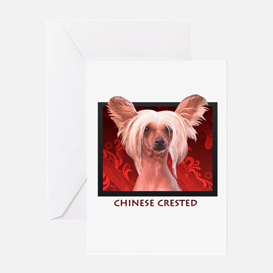 Chinese Crested Greeting Card