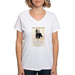 William Barclay Masterson Women's V-Neck T-Shirt