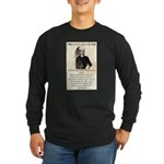 William Barclay Masterson Long Sleeve Dark T-Shirt