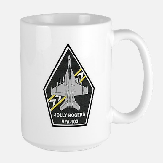 VFA 103 Jolly Rogers Large Mug