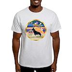 XmasStar/German Shepherd #14 Light T-Shirt