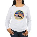 XmasStar/German Shepherd #14 Women's Long Sleeve T