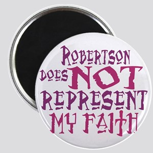 Robertson, not my faith. Magnet