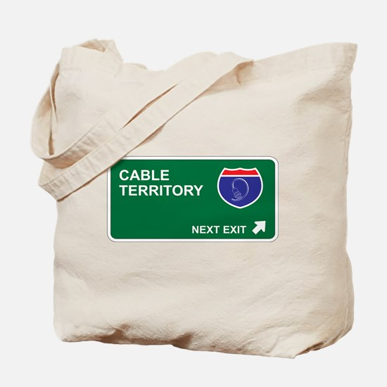 Cable Territory Tote Bag