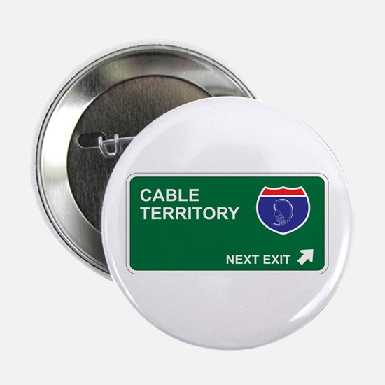 "Cable Territory 2.25"" Button (10 pack)"