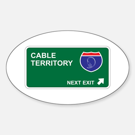 Cable Territory Oval Decal