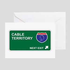 Cable Territory Greeting Card