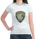 Covina Police Jr. Ringer T-Shirt