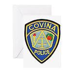Covina Police Greeting Cards (Pk of 10)