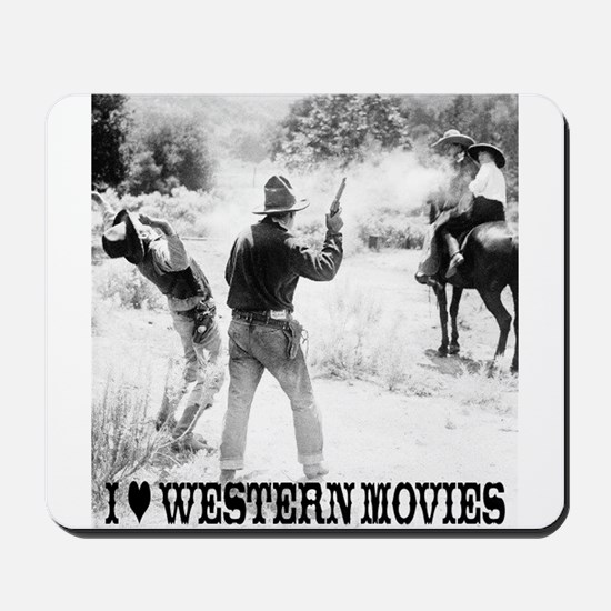 Western Movies Mousepad