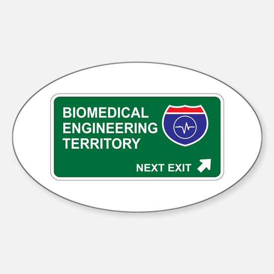 Biomedical, Engineering Territory Oval Decal