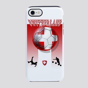 Switzerland Soccer iPhone 8/7 Tough Case