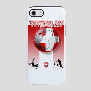 Switzerland Soccer iPhone 8/7 Tough Case