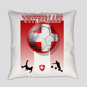 Switzerland Soccer Everyday Pillow