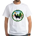 Take Off1/German Shepherd #14 White T-Shirt