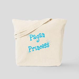 Pagan Princess Teal Tote Bag